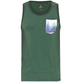 Prana Shuffle Mouwloos Shirt Heren grijs/groen